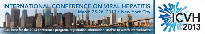 International Conference on Viral Hepatitis, March 25-26, 2013