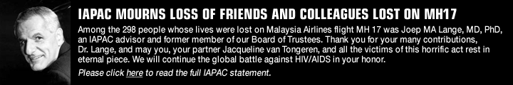 IAPAC Mourns Loss of Friends and Colleagues Lost on MH17