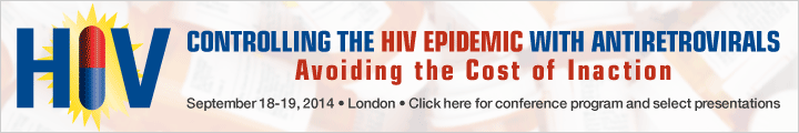 Controlling the HIV Epidemic with Antiretrovirals: Avoiding the Cost of Inaction, 18-19 September, 2014, London