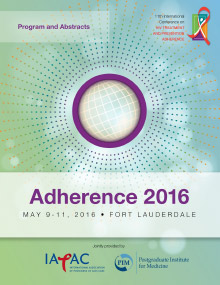 Adherence 2016 Conference Program
